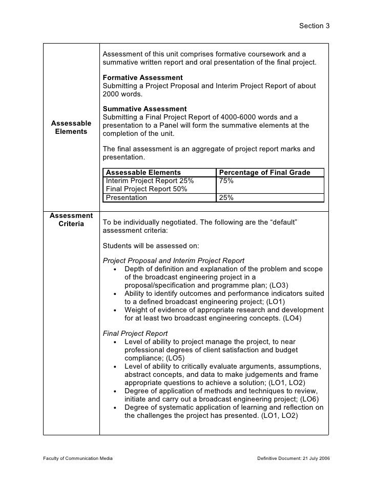 Project Brief Templates Vosvetenet – Project Brief Template