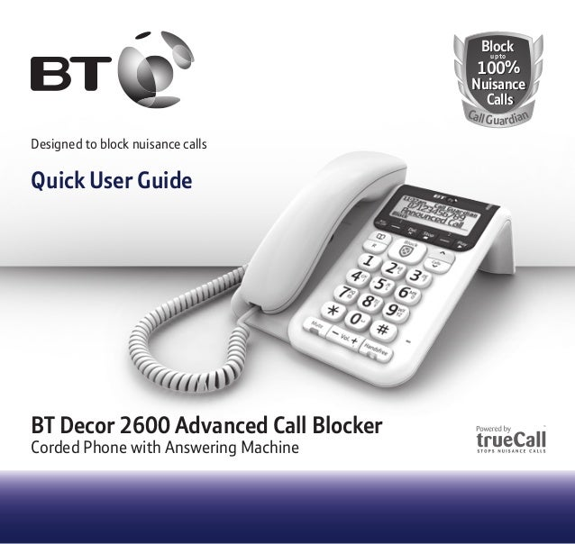 Block phone calls - telephone blocker