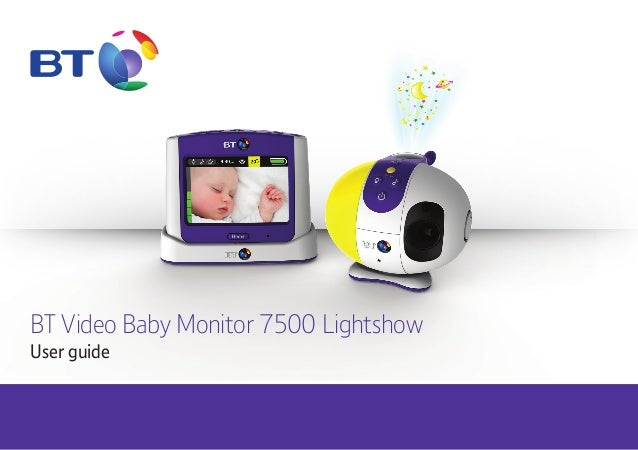 bt video baby monitor 7500 user guide. Black Bedroom Furniture Sets. Home Design Ideas