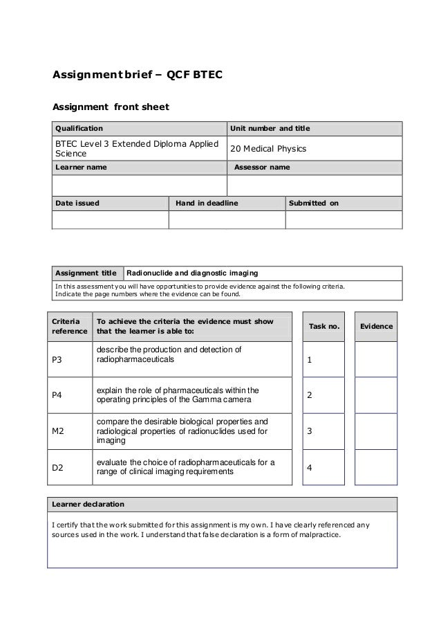 "unit 3 assignment brief Task a assignment 1 unit-2-assignment-brief-nodates exercise a ""meeting the brief""btec unit 2 breakdown individually read through the client brief and write a."