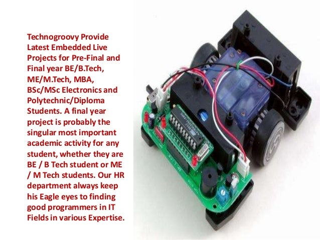 B tech final year projects for ece eie eee students