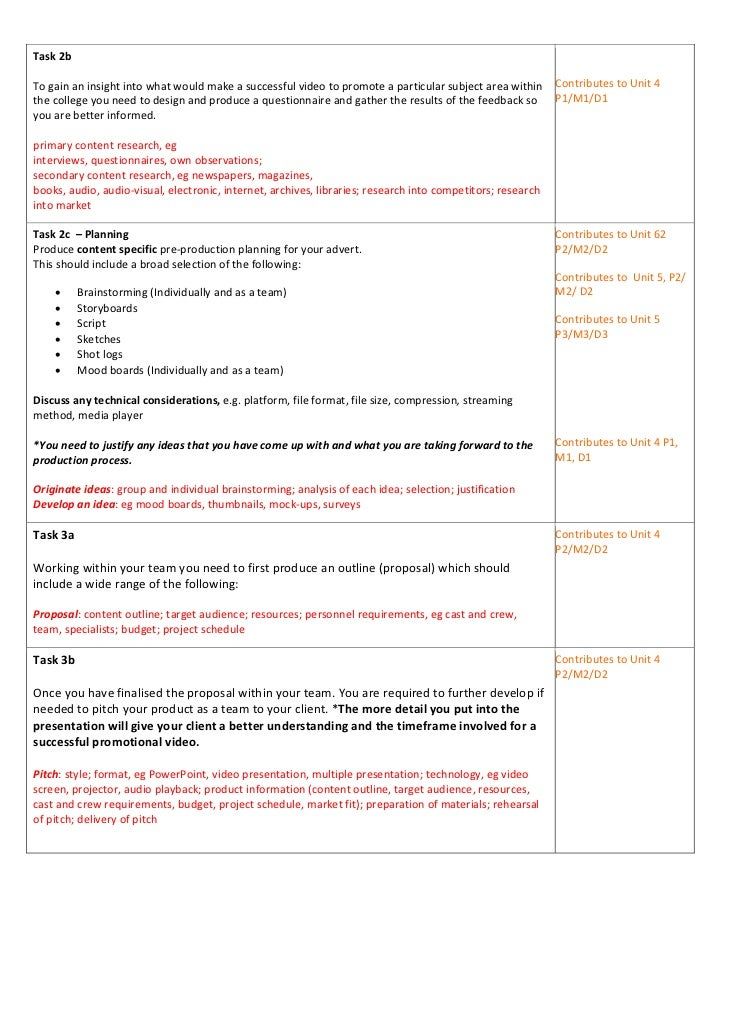 introduction to marketing unit 3 level 3 btec p1 Btec business level 3 unit 10 - p1,p2,p3,p4,p5,m1,m2,m3,d1&d2 this unit builds on unit 3: introduction to marketing and extends learners' knowledge and understanding of the marketing research process from original brief to presentation of findings.