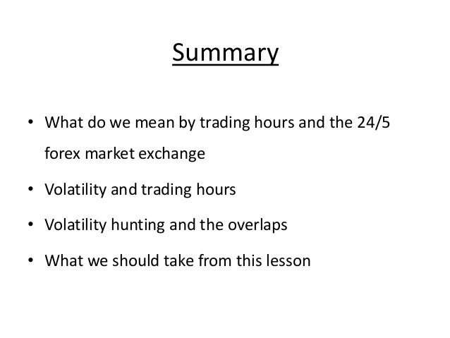 After hours binary option trading