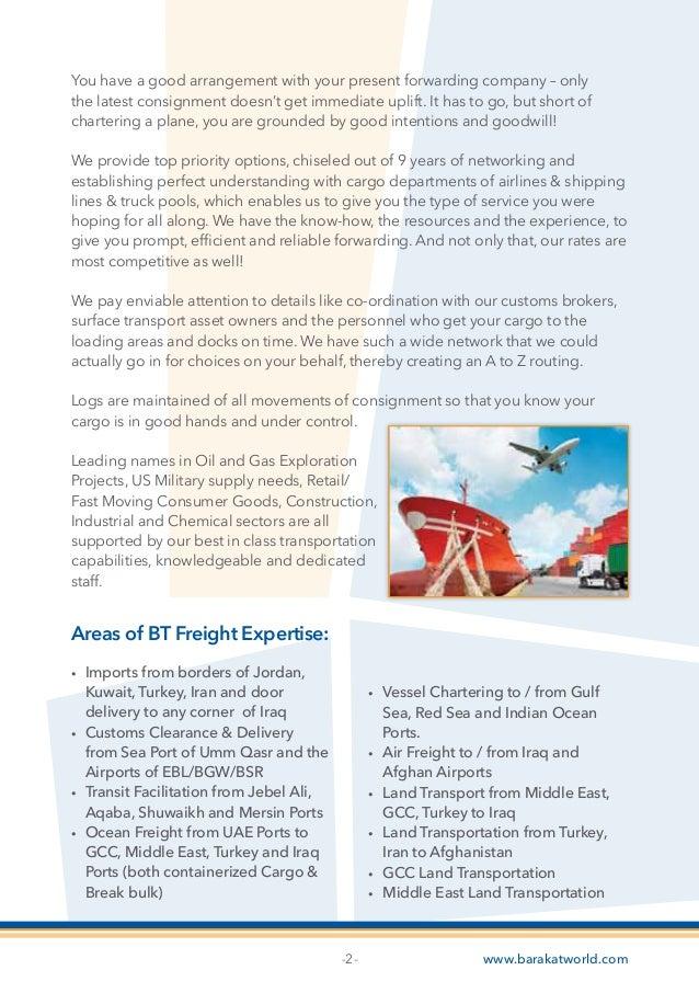 bt freight 2015 brochure