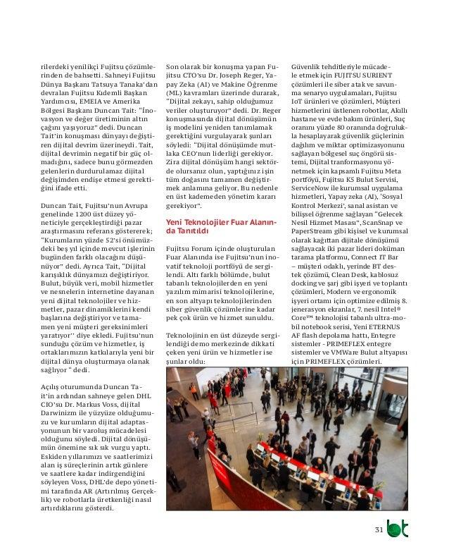 33 A vrupa, Orta Doğu ve Afri- ka'da 380 CEO ve üst düzey yöneticinin katılımıyla ger- çekleştirilen Dijital Devrim araştı...