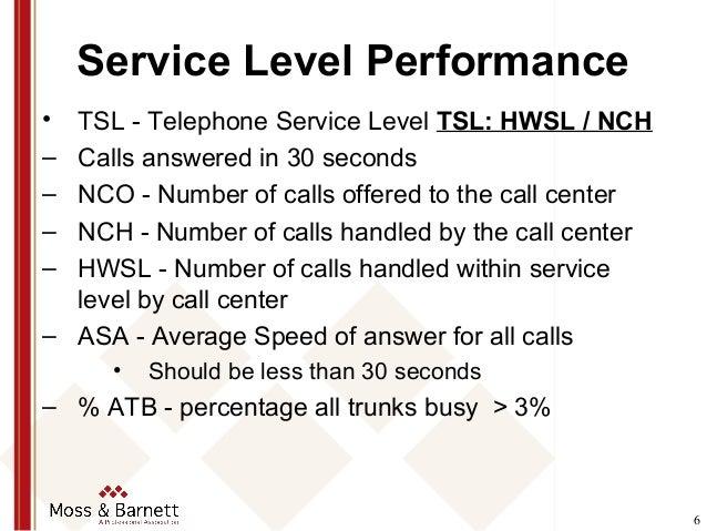 Customer Service Standards