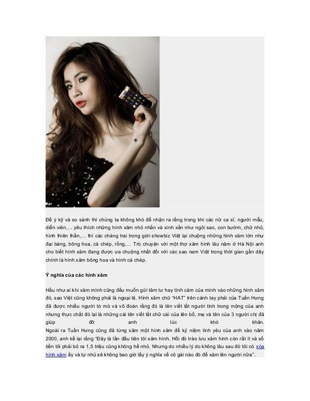 Để ý kỹ và so sánh thì chúng ta không khó để nhận ra rằng trong khi các nữ ca sĩ, người mẫu,diễn viên,… yêu thích những hì...