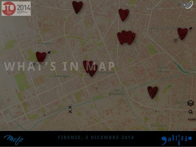 WHAT 'S IN MAP  FIRENZE, 3 DICEMBRE 2014