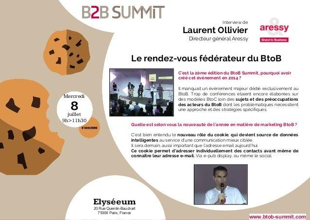 Mercredi juillet 9h>11h30 8 Elyséeum 20 Rue Quentin-Bauchart 75008 Paris, France Quelle est selon vous la nouveauté de l'a...