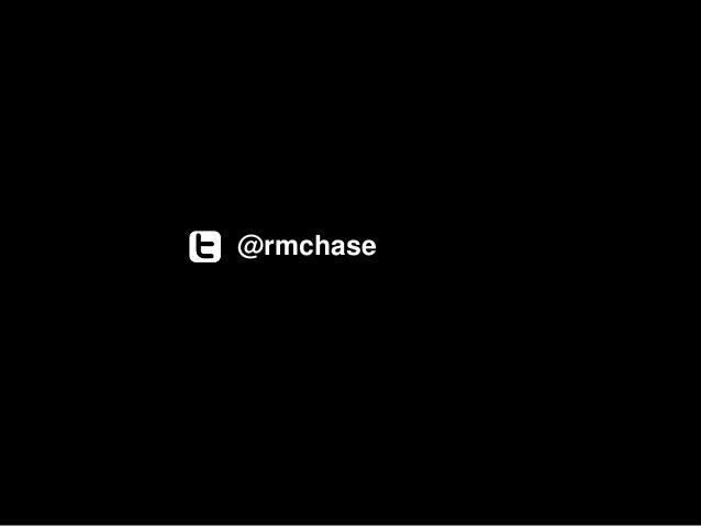 @rmchase