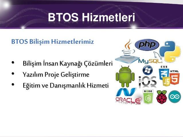 BTOS Bilişim İnsan Kaynakları Hizmetleri Slide 3