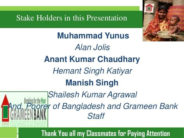 Muhammad Yunus Book Tour