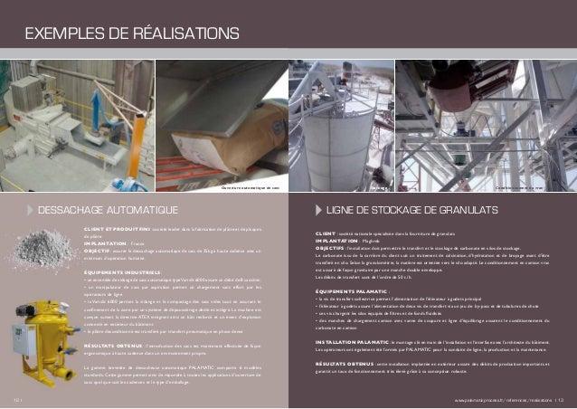 Dessachage automatique CLIENT : société nationale spécialisée dans la fourniture de granulats IMPLANTATION : Maghreb OBJEC...