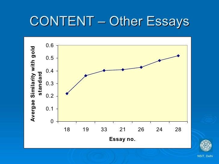 hva kjennetegner essay