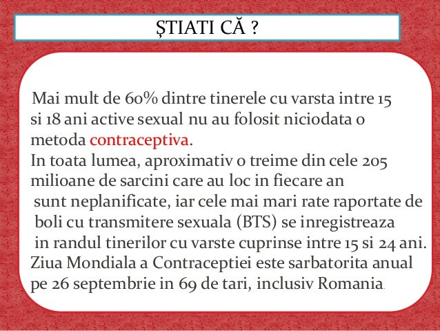 Prevenirea boli cu transmitere sexuala