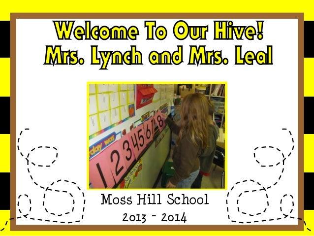 Moss Hill School 2013 - 2014