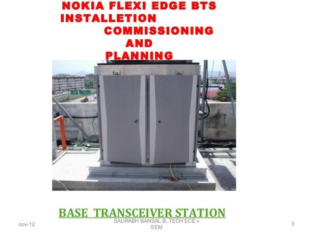 Bts Installation Amp Commisioningppt