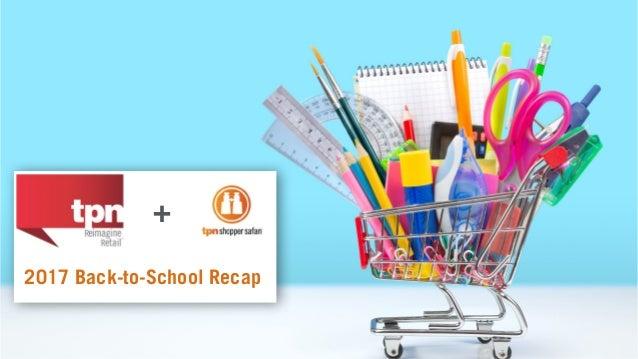 1 + 2017 Back-to-School Recap