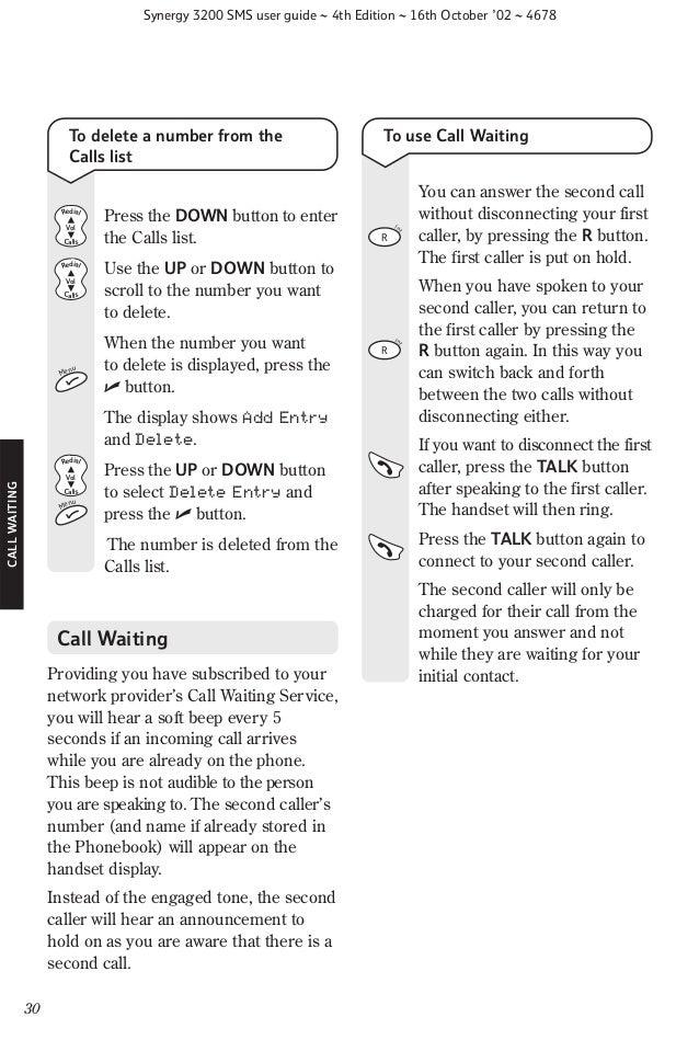 Bt synergy 5500 user guide