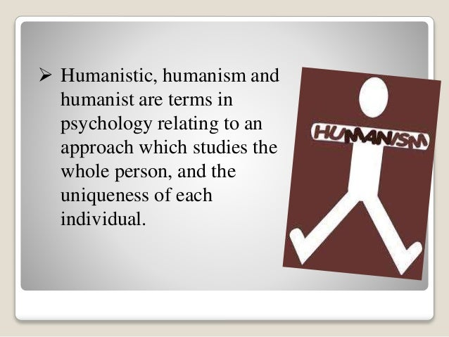 humanistic approach to teaching adults