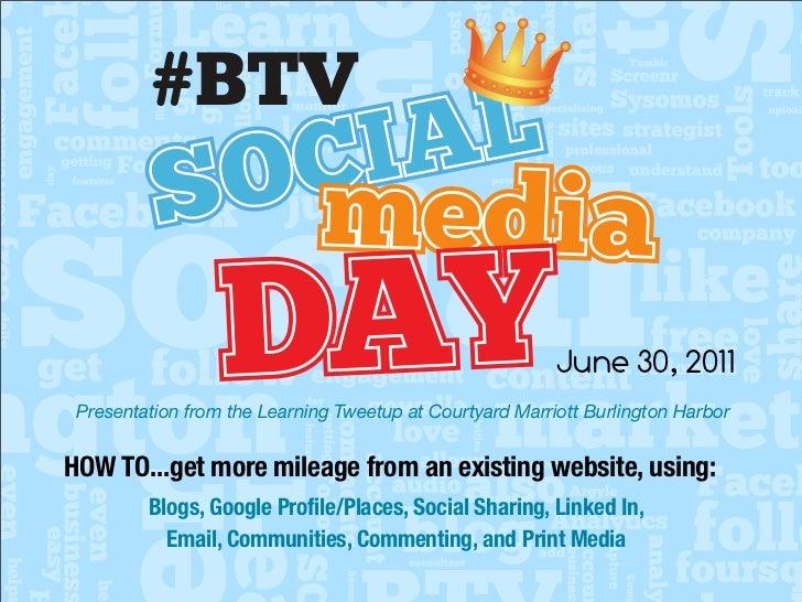 #BTV                           C IA L          S O media                  DAY                                     June 30,...