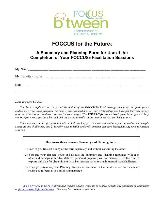 Foccus inventory