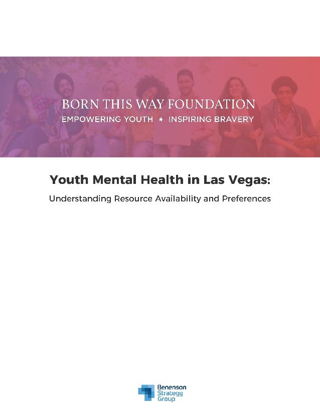 2 On behalf of Born This Way Foundation, Benenson Strategy Group conducted 401 online interviews with 13-24 year olds in t...