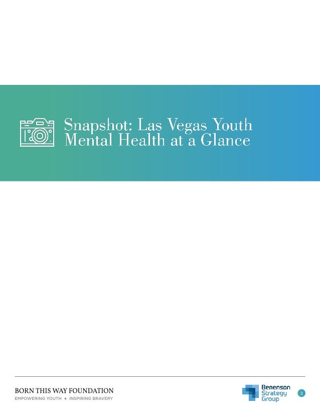 Youth Mental Health in Las Vegas: Understanding Resource Availability and Preferences Slide 3