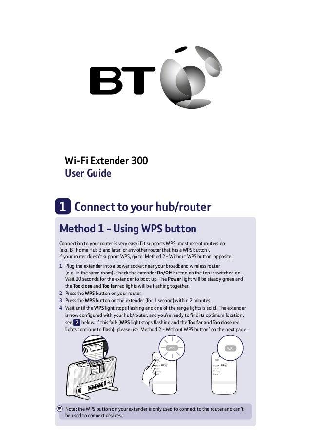 Wi-Fi Extender 300 User Guide WPS Ethernet Power Too close Good range Too far WPS Ethernet Power Too close Good range Too ...