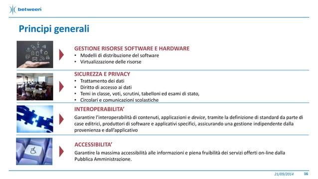 Principi generali  21/09/2014 16  GESTIONE RISORSE SOFTWARE E HARDWARE  • Modelli di distribuzione del software  • Virtual...