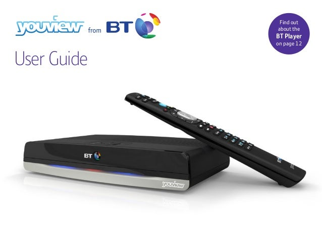 bt youview plus set top box user guide rh slideshare net BT Box Speakers BT YouView Box Connection