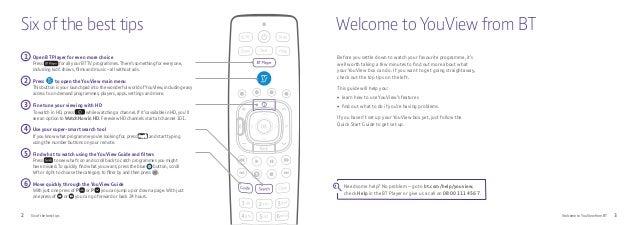 bt youview zapper smart tv box user guide rh slideshare net TalkTalk YouView Box BTS TV