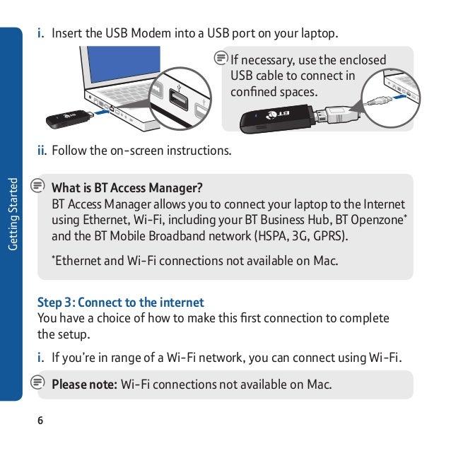 BT ZTE MF636 Mobile Broadband Dongle
