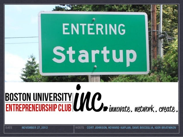 BUSINESS MODEL GENERATION MEETUP                                   NOW ???DATE      NOVEMBER 27, 2012        HOSTS CORT JO...