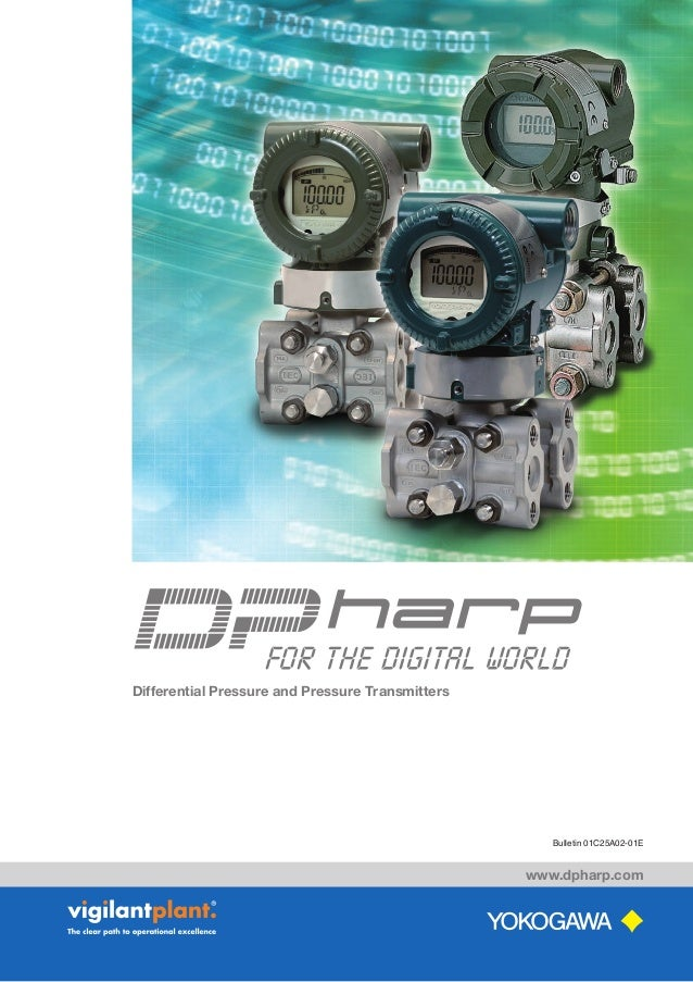 Bulletin 01C25A02-01E www.dpharp.com Differential Pressure and Pressure Transmitters