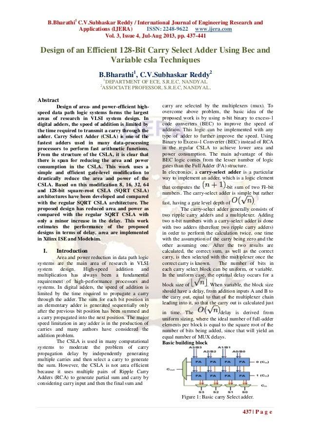 B.Bharathi1 C.V.Subhaskar Reddy / International Journal of Engineering Research and Applications (IJERA) ISSN: 2248-9622 w...