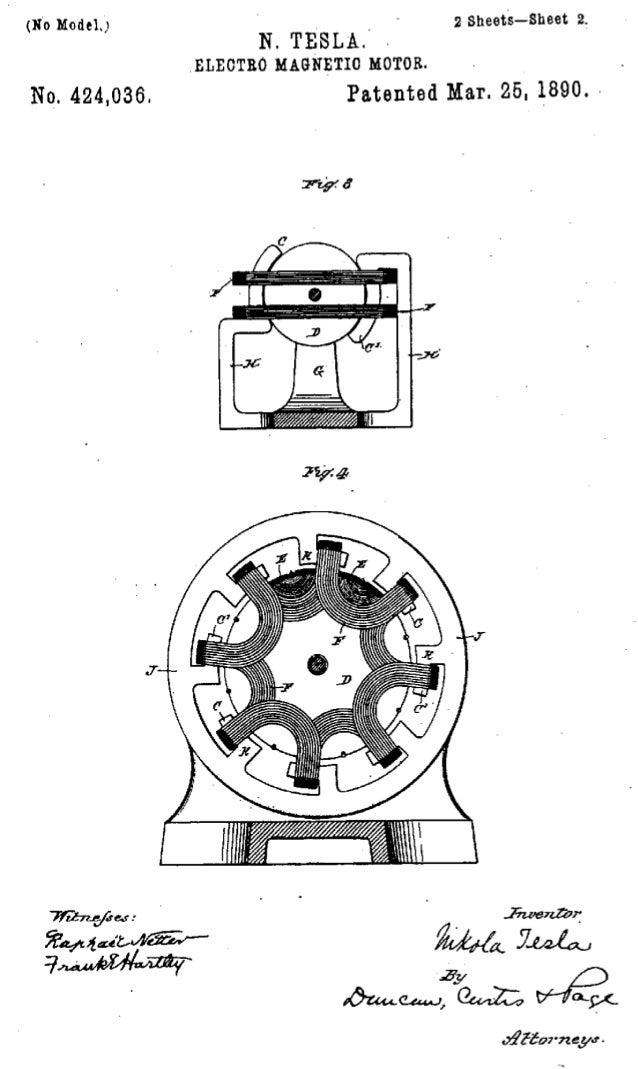 tesla magnet motor