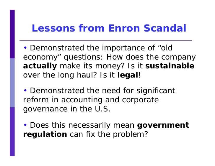enron scandal explained