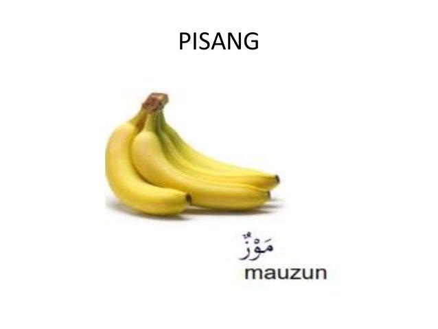 Nama Buah buahan dalam b.arab