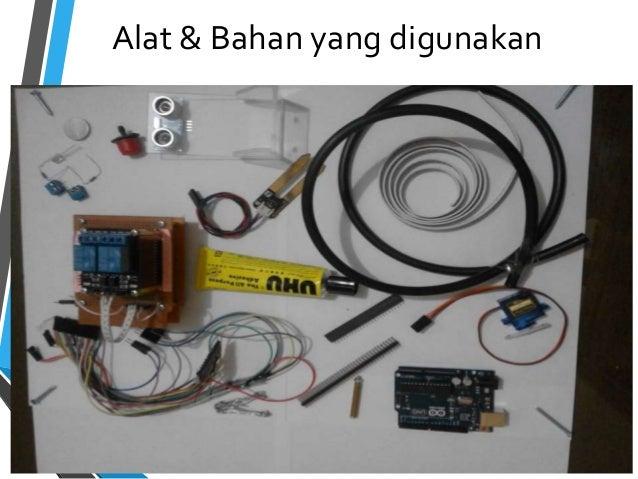 Prototype Alat Penyiram Tanaman Otomatis Dan Pengontrol Level Air Den