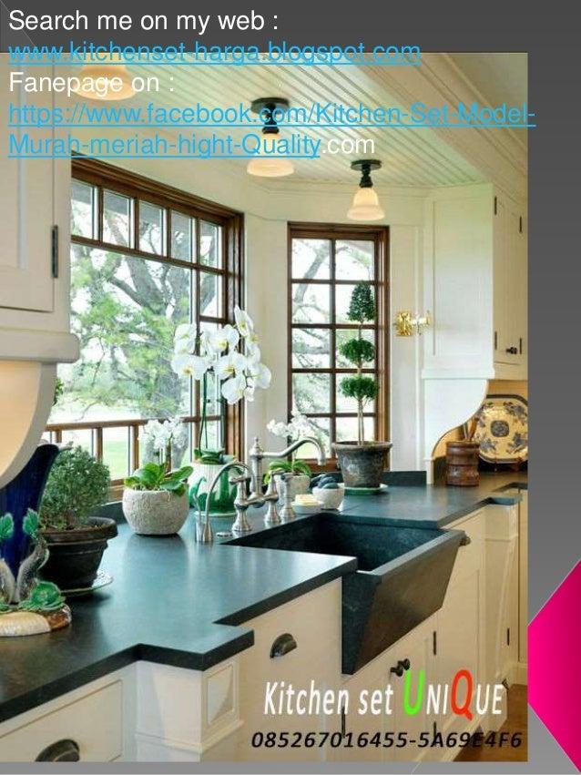 Buat Kitchen Set Di Malang Desain Kitchen Set Dapur Kecil Harga Kit
