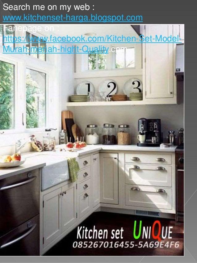 Buat Kitchen Set Di Malang Desain Kitchen Set Dapur Kecil