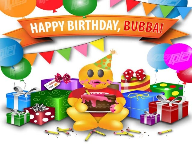 Bubba's birthday 2013