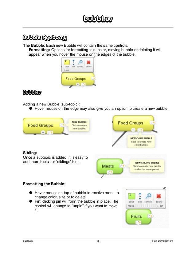 Bubbl.us manual