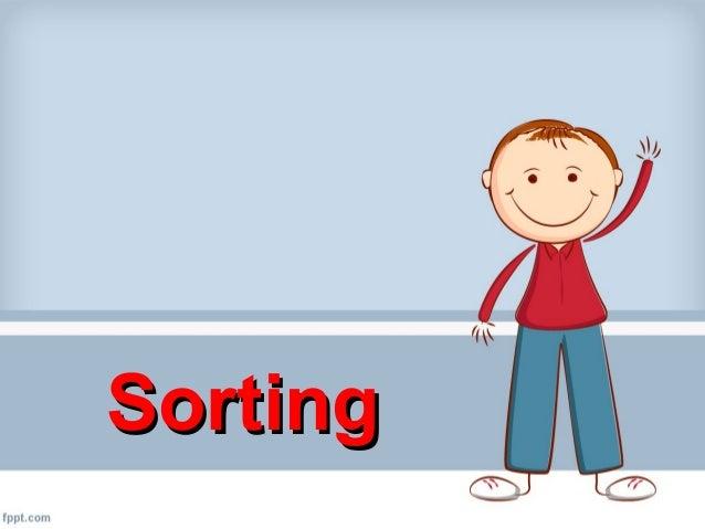 SortingSorting