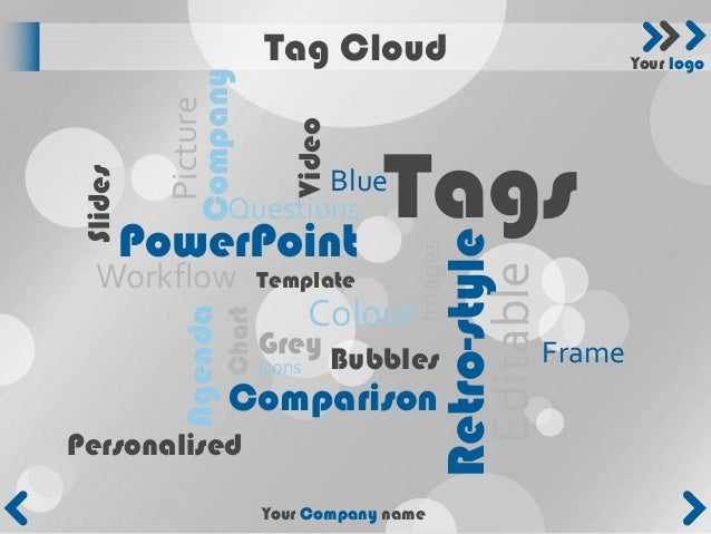 Tag Cloud                             Your logo          Company           Picture                               Video    ...