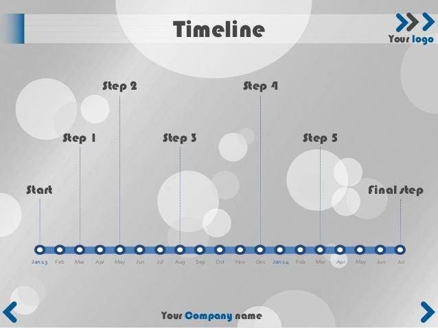 Timeline                                                              Your logo                        Step 2             ...