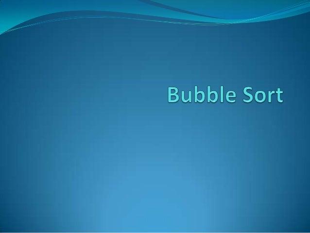 """O bubble sort, ou ordenação por flutuação (literalmente """"por bolha""""), é um algoritmo de ordenação dos mais simples. A idei..."""