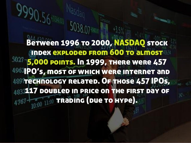 Dot com bubble ipo