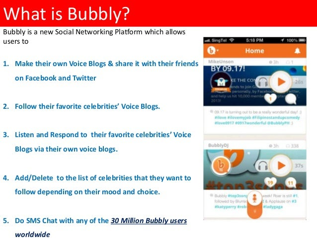 bubbly an overview ppt